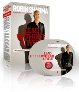 Robin Sharma – The Lead Without a Title System