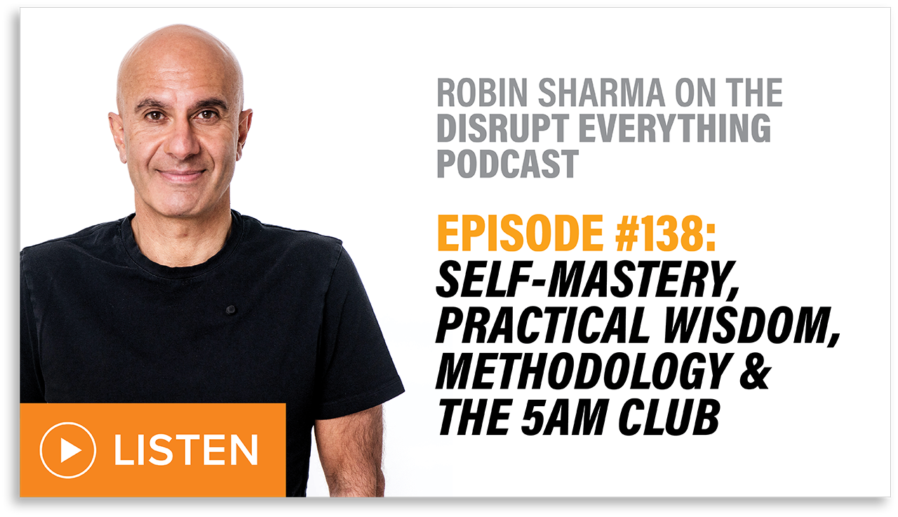 How to Maximize Your Productivity in a Crisis | Robin Sharma